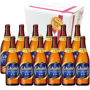 ビールギフト アサヒ ドライプレミアム豊醸 中瓶 ビール12本セット お中元 お歳暮 ギフト ビール
