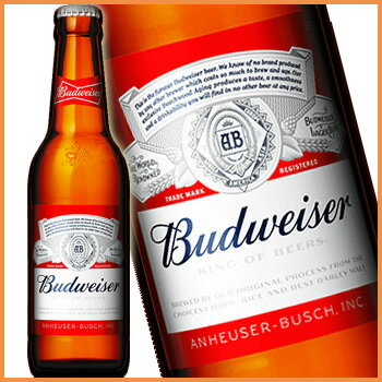 バドワイザービール瓶 330ml 【PS】