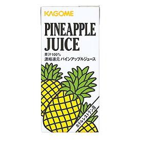カゴメ パインアップル ジュース 1L/6パック 1ケース【ラッキーシール対応】