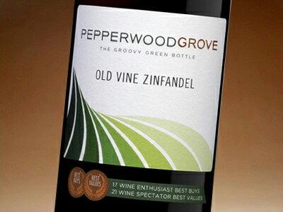 ペッパーウッド・グローヴ オールド・ヴァイン ジンファンデル カリフォルニア 750ml (ワイン) 【wineday】