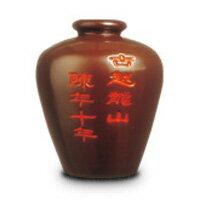 古越龍山 紹興花彫酒 陳年10年 茶甕 5L (中国酒)【ラッキーシール対応】