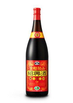 古越龍山 紹興酒 花彫 金龍 1.8L (中国酒)【ラッキーシール対応】