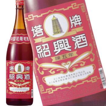 塔牌 紹興酒 花彫 5年 1.8L (中国酒)【ラッキーシール対応】