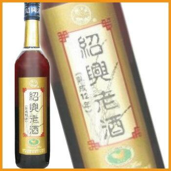 興南 紹興老酒 クリアー 12年 500ml (中国酒・紹興酒)
