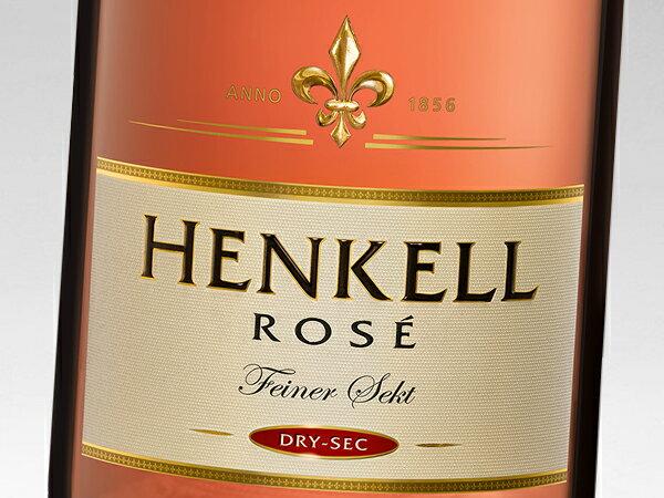 ヘンケル・トロッケン ロゼ ドライ・セック ゼクト 750ml (ワイン) 【wineday】 【楽ギフ_包装】 【楽ギフ_のし】