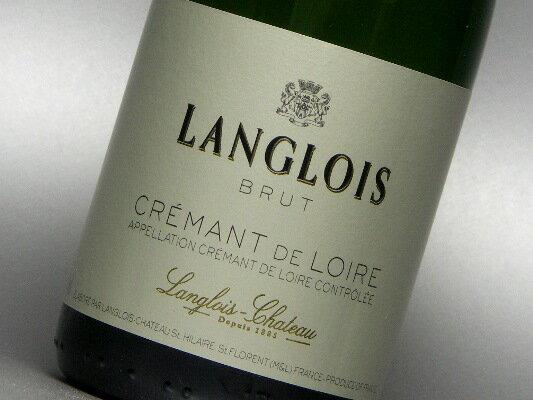 ラングロワ・シャトー クレマン・ド・ロワール ブリュット 【ハーフ】 375ml (ワイン) 【wineday】