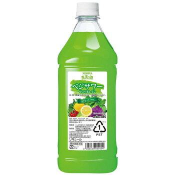 アサヒ ニッカ 果実の酒 ベジサワー セロリ&レモン コンク 1.8L (1:3希釈) [ラッキーシール対応]