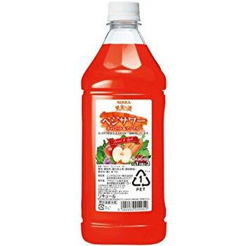 アサヒ ニッカ 果実の酒 ベジサワー キャロット&アップル コンク 1.8L (1:3希釈) [ラッキーシール対応]