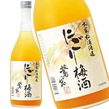 鳴門鯛 鴬宿 にごり梅酒 12゜720ml【ラッキーシール対応】