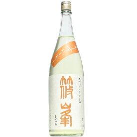 【日本酒】篠峯 ろくまる 八反 うすにごり 生 1800ml