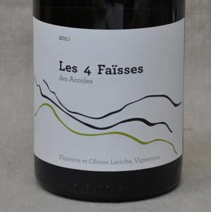 ドメーヌ デ・ザコル レ・カト・ファイス[2012]Domaine Des Accoles Les4 Faisses[2012]【 フランス・ローヌ・白ワイン】【楽ギフ_包装】