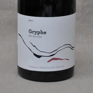 ドメーヌ デ・ザコル グリフ[2012]Domaine Des Accoles Gryphe[2012]【 フランス・ローヌ・赤ワイン】【楽ギフ_包装】