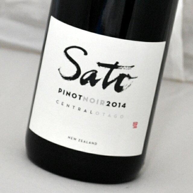サトウ・ワインズ ピノ・ノワール[2014] Pinot Noir[2014]Sato Wines【赤ワイン・ニュージーランド】