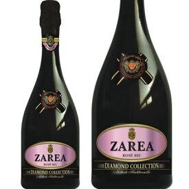 ザレア ダイアモンド コレクション ロゼ Zarea Diamond Collection Rose (750 ml)ルーマニアワイン、フルーティーなスパークリングワイン・記念日、誕生日に贈ろう♪もらって嬉しいお酒ギフト プレゼントに・焼き鳥や魚料理と一緒にスパークリングワイン♪女子会に