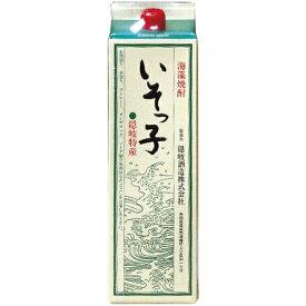 海藻焼酎 いそっ子 1800ml パック和食や珍味、日本の味覚と相性抜群 プロがお届けする地酒・焼酎。還暦祝いや父の日、開店祝い、パーティー宴会への手土産などにオススメ♪