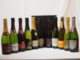ドンペリ飲み比べ11本セット(ドン ペリニヨン ロゼ、ドンペリニヨン白+ロジャーグラートロゼ750+世界の厳選スパークリングワイン(辛口5本、甘口3本))750ml×11本 バレンタイン