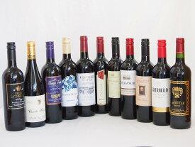 【最大2000円オフクーポン9日1:59迄】セレクション赤ワイン11本セット (赤ワイン 11本)750ml×11本