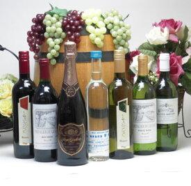 【パーティーワイン&日本酒福袋7本セット】高品質ワイン5本(赤2本、白3本)とスパークリングワインロゼ1本と生酒原酒1本500ml バレンタイン