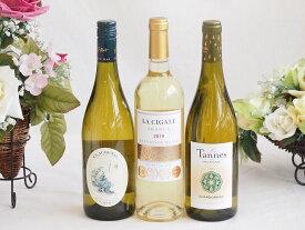 セレクション 金賞受賞酒 フランスワイン 白ワイン 3本セット 750ml×3本 バレンタイン