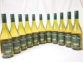 【最大2000円オフクーポン9日1:59迄】11本セットチリ産白ワイン フエンテ・フルータ カベルネ  白(チリ)750ml×11本