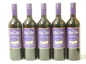 5本セットチリ産赤ワイン フエンテ・フルータ カベルネ  赤(チリ)750ml×5本
