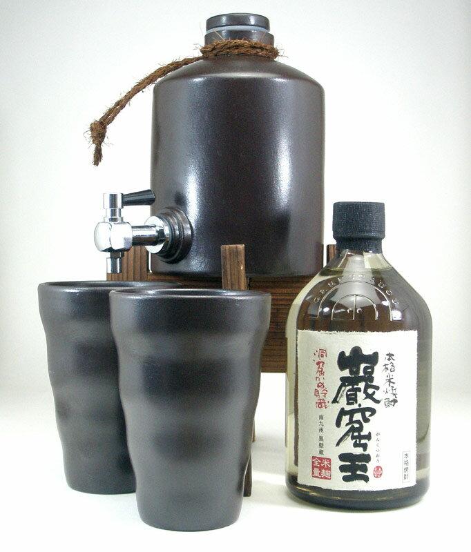 焼酎サーバー豪華セット (米焼酎 巌窟王720mlセット)