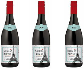 2020年11月19日解禁ボジョレー ピエール・マルセル・ボージョレー・ヌーヴォー 赤ワイン (ボジョレヌーヴォ)盛田甲州ワイナリー750ml×3本
