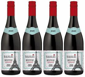 2020年11月19日解禁のボジョレー ピエール・マルセル・ボージョレー・ヌーヴォ2020ボージョレーAOP 赤ワイン 750ml(ボジョレヌーヴォ)盛田甲州ワイナリー720ml×4本