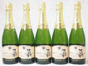 5本セット 高畑 嘉スパークリングスウィート マスカットオレンジ 甘口スパークリングワイン(山形県) 750ml×5本