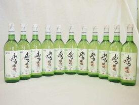 【最大2000円オフクーポン9日1:59迄】日本ワイン おたる醸造 ナイアガラ 日本産葡萄100% 白 やや甘口 (北海道)720ml×11本