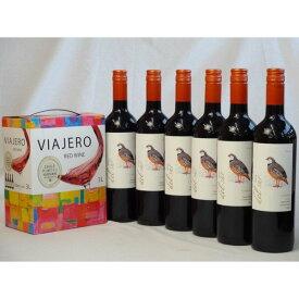ワインセット チリ産大容量赤ワイン飲み比べセット(VIAJERO(ヴィアヘロ)赤ワイン3000ml デル・スール・カルメネール