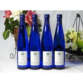 ワインセット シャンモリ甘口ワイン4本セット(ナイアガラ4本) 国産ぶどう100%使用 500ml×4本 盛田甲州ワイナリー(山
