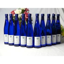 ワインセット シャンモリ甘口ワイン10本セット(ナイアガラ10本) 国産ぶどう100%使用 500ml×10本 盛田甲州ワイナリ