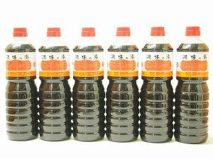 調味の素カツオだし入 ヤマコノのデラックス醤油 味噌平醸造(岐阜県)ペット 1000ml×9