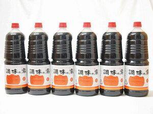 調味の素カツオだし入 ヤマコノのデラックス醤油 味噌平醸造(岐阜県)ペット 1800ml×8