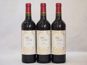 フランス赤ワイン サン ディヴァン ルージュ 750ml×3