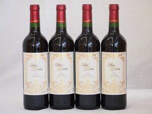 フランス赤ワイン サン ディヴァン ルージュ 750ml×4