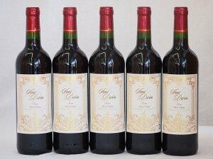 フランス赤ワイン サン ディヴァン ルージュ 750ml×5