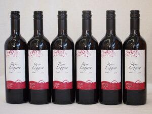 チリ赤ワイン クレマスキ ロッソ・リゲロ ミディアムボディ 辛口 750ml×6