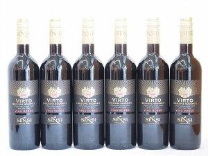 イタリア赤ワイン センシィ ヴィルト ロッソ 750ml×6本