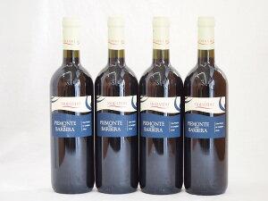 イタリア赤ワイン バルベーラ ピエモンテ モランド 750ml×4本
