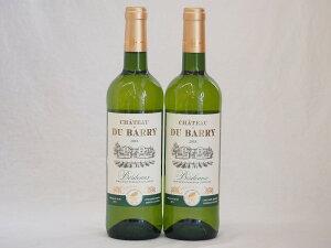 フランス金賞白ワイン シャトー・デュ・バリー 750ml×2本