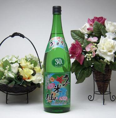 【 6本セット】久米仙酒造 久米仙 本場泡盛 30度 1800ml×6