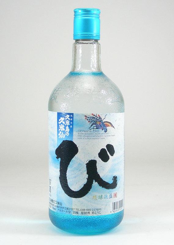 【 6本セット】久米島の久米仙 び 古酒 琉球泡盛 25度 720ml×6