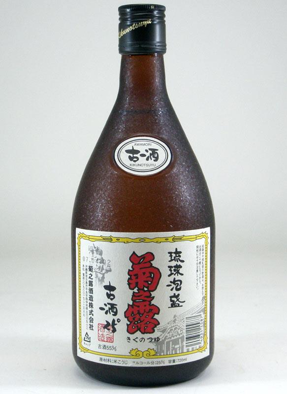 【 6本セット】菊之露 3年古酒 25度 720ml×6
