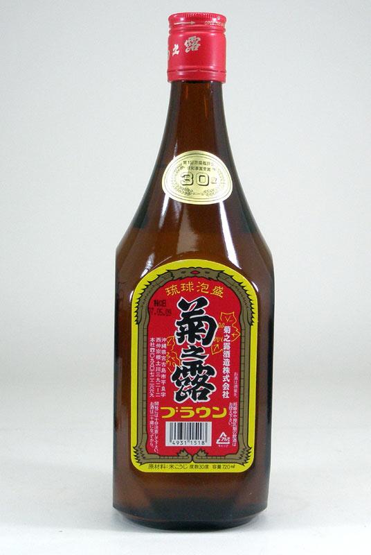 【 6本セット】菊之露 古酒菊之露 ブラウン 30度 720ml×6