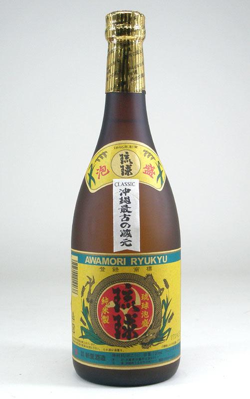 【 6本セット】新里酒造 琉球クラシック 古酒泡盛 25度 720ml×6
