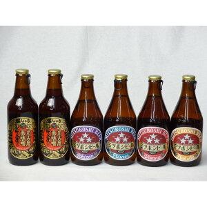 クラフトビールパーティ6本セット 名古屋赤味噌ラガー330ml×2本 ミツボシヴァイツェン330ml ミツボシウィンナスタイルラ