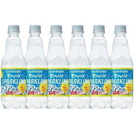 サントリー南アルプスの天然水スパークリングレモン 炭酸水 ペットボトル 500ml×6本