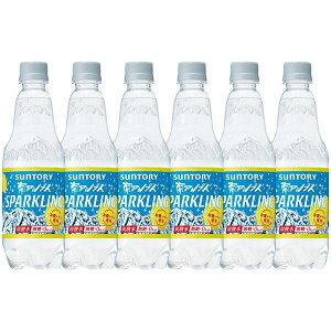 サントリー南アルプスの天然水スパークリングレモン 炭酸水 ペットボトル 500ml×24本
